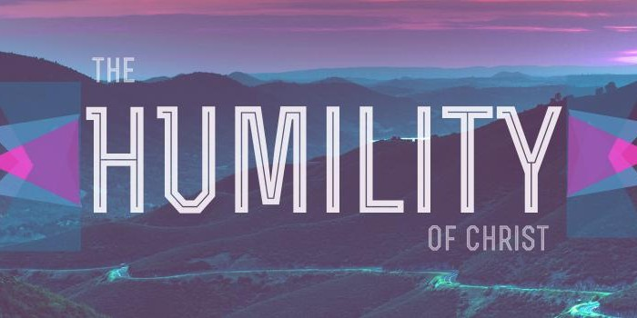 Humility—and How Christ Modeled It for Us