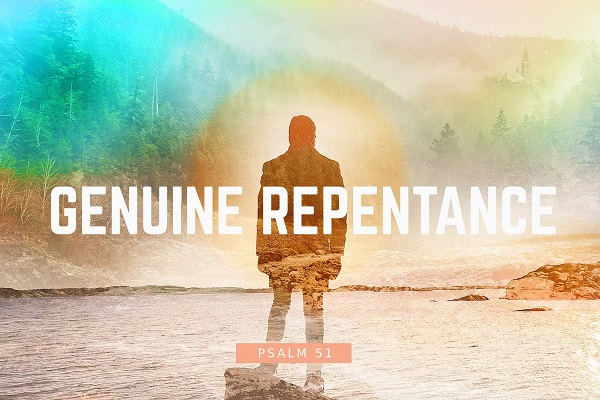 Genuine Repentance (Sermon Series)